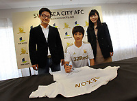 2012 11 02 Sponsorship deal between Korean gaming firm Nexon and Swansea City FC