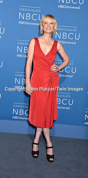 Anne Heche attends the NBCUNIVERSAL 2017 UPFRONT on May 15, 2017 at Radio City Music Hall in New York, New York, USA.<br /> <br /> photo by Robin Platzer/Twin Images<br />  <br /> phone number 212-935-0770