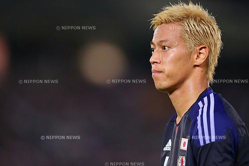 Keisuke Honda (JPN), SEPTEMBER 10, 2013 - Football / Soccer : KIRIN Challenge Cup 2013 match <br /> between Japan 3-1 Ghana<br /> at Nissan Stadium in Kanagawa, Japan. <br />  (Photo by Yusuke Nakanishi/AFLO SPORT)