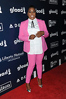 www.acepixs.com<br /> May 6, 2017  New York City<br /> <br /> Alex Newell attending arrivals at GLAAD Media Awards on May 6, 2017 in New York City.<br /> <br /> Credit: Kristin Callahan/ACE Pictures<br /> <br /> <br /> Tel: 646 769 0430<br /> Email: info@acepixs.com