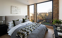 BNPS.co.uk (01202 558833)<br /> Pic: SelenckyParsons/BNPS<br /> <br /> Slight Move? - Gap in the market has been filled by this deceptive 'tardis' like new London home.<br /> <br /> The unique 'infill' house which is just 11ft wide has emerged on the market for £1.25million.<br /> <br /> The Coach House has been cleverly designed in an L shape to fit perfectly in the narrow gap between two Victorian houses.<br /> <br /> The three storey, four bedroom property in New Cross, South London, widens out at the end and opens up onto its garden.<br /> <br /> The home, which is on the site of a former coach house, has been designed by architects Selencky and Parsons.