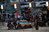 #20: Christopher Bell, Joe Gibbs Racing, Toyota Camry GameStop Transformers, pit stop