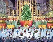 Randy, CHRISTMAS CHILDREN, WEIHNACHTEN KINDER, NAVIDAD NIÑOS, paintings+++++Rockefeller-Center_sm,USRW327,#xk#