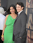 "Freida Pinto and James Franco attends The 20th Century Fox L.A. Premiere of ""Rise of the Planet of The Apes"" held at The Grauman's Chinese Theatre in Hollywood, California on July 28,2011                                                                               © 2011 DVS / Hollywood Press Agency"