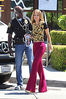 "AnnaLynne McCord & Shenae Grimes filming on the set of "" Beverly Hills 902010 "" - Los Angeles"