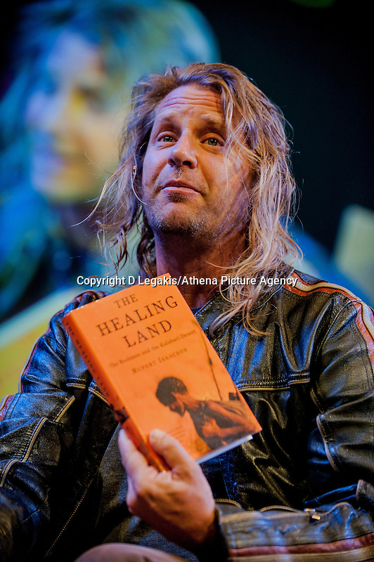 Thursday  29 May 2014, Hay on Wye, UK<br /> Pictured: Rupert Isaacson<br /> Re: The Hay Festival, Hay on Wye, Powys, Wales UK.
