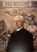 Weimar Culture:  Die Woche, 1 Oct. '27.  A special issue on Reich President Hindenburg.  Reference only.