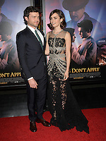 LOS ANGELES, CA. November 10, 2016: Actors Alden Ehrenreich &amp; Lily Collins at World Premiere of &quot;Rules Don't Apply&quot;, part of the AFI Fest 2016, at the TCL Chinese Theatre, Hollywood.<br /> Picture: Paul Smith/Featureflash/SilverHub 0208 004 5359/ 07711 972644 Editors@silverhubmedia.com
