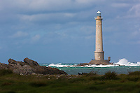 Europe/France/Normandie/Basse-Normandie/50/Manche/Auderville: Cap de la Hague,  Goury Phare de La Hague // Europe/France/Normandie/Basse-Normandie/50/Manche/Auderville: Port Goury , the lighthouse of La Hague