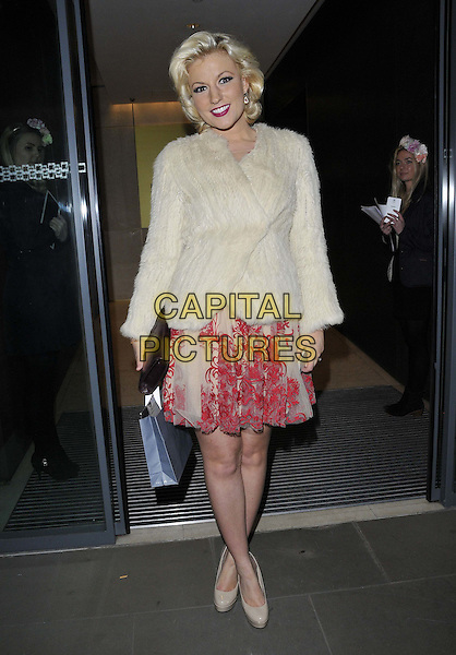 LONDON, ENGLAND - OCTOBER 21: Natalie Coyle attends the Myla luxury lingerie brand 15th anniversary party, The House of Myla, Stratton St., on Tuesday October 21, 2014 in London, England, UK. <br /> CAP/CAN<br /> &copy;Can Nguyen/Capital Pictures