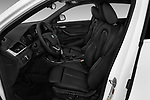 Front seat view of a 2018 BMW X2 Base 5 Door SUV front seat car photos