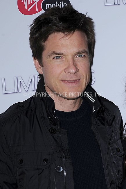 WWW.ACEPIXS.COM . . . . . .March 8, 2011...New York City... Jason Bateman attends Relativity Media's world premiere of 'Limitless'  at Regal Union Square Theatre, on March 8, 2011 in New York City....Please byline: KRISTIN CALLAHAN - ACEPIXS.COM.. . . . . . ..Ace Pictures, Inc: ..tel: (212) 243 8787 or (646) 769 0430..e-mail: info@acepixs.com..web: http://www.acepixs.com .
