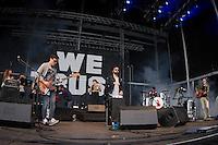 19/07/2014 - PORTUGAL, PORTO, GAIA - MEO MARÈS VIVAS 2014 - WE TRUST, Banda portuguesa durante o Festival Meo Marés Vivas 2014. (Foto: Pedro Lopes/Brazil Photo Press)