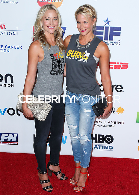 HOLLYWOOD, LOS ANGELES, CA, USA - SEPTEMBER 05: Cynthia Daniel, Brittany Daniel arrive at the 4th Biennial Stand Up To Cancer held at Dolby Theatre on September 5, 2014 in Hollywood, Los Angeles, California, United States. (Photo by Xavier Collin/Celebrity Monitor)