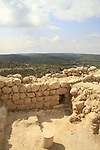 An opening at the wall of Hurvat Eked, a fortress from the Hellenistic period, the fortress was also used by the rebels during the Bar Kokhva revolt against the Romans