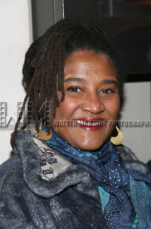 Lynn Nottage attend the Manhattan Theatre Club's Broadway debut of August Wilson's 'Jitney' at the Samuel J. Friedman Theatre on January 19, 2017 in New York City.