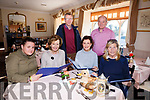 Spa Fenit  Hospice and Kerry Cork Health Link Bus fundraising event German/Irish Food Fest Night at the Oyster Tavern on £rd November.Pictured Gemma Lockheed, Marie McSwiney, Margo McGrath, Nuala Finnegan Back TJ O'Connor and John Murray