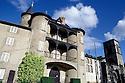 18/11/05 - THIERS - PUY DE DOME - FRANCE - Chateau et abbaye du MOUTIER - Photo Jerome CHABANNE