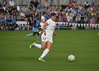 Kansas City, MO - Saturday May 28, 2016: FC Kansas City defender Brittany Taylor (13). FC Kansas City defeated Orlando Pride 2-0 during a regular season National Women's Soccer League (NWSL) match at Swope Soccer Village.
