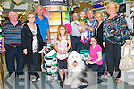 Dulux Paint Dog : The Dulux paint dog Shanti, an Old English Sheepdog, visited O'Connell's Decor Store in Listowel on Friday last and pictured wuth him are Patrick O'Connor, Trudy Smith, Jack Flaherty, Caoimhe Laide, Michael O'Connell, O'Connell's Decor Store, Amy & Michael O'Connell, Jn., Karen O'Connell & Theresa O'Leary, Dulux Pants. Front : Marcella Mulvihill, O'Connell's Decor Store.