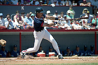 Boston Red Sox Dwight Evans during spring training circa 1990 at Chain of Lakes Park in Winter Haven, Florida.  (MJA/Four Seam Images)