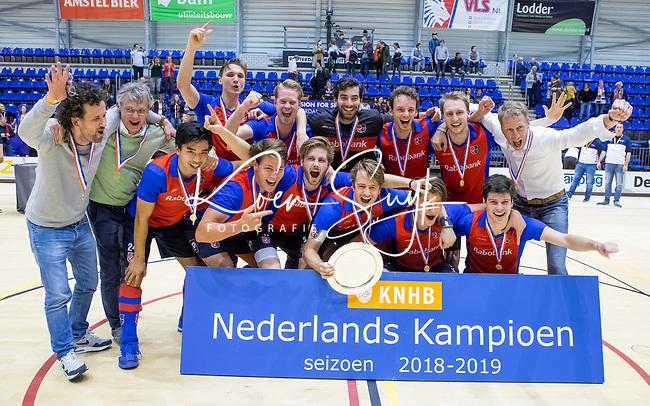 ROTTERDAM  - NK Zaalhockey . finale heren: SCHC-Amsterdam (2-2, SCHC wint shoot-outs) .  COPYRIGHT KOEN SUYK