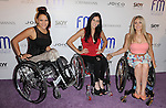 "Cast of Push Girls Auti Angel, Mia Schaikewitz and Tiphany Adams arriving to the ""Friend Movement Anti-Bullying Benefit  Concert"" held at the El Rey Theatre in Los Angeles on July 1, 2013."