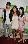 "WEST HOLLYWOOD, CA - APRIL 13: Channing Tatum, Kimberly Snyder and Jenna Dewan-Tatum attend the Kimberly Snyder Book Launch Party For ""The Beauty Detox Solution"" at The London Hotel on April 13, 2011 in West Hollywood, California."