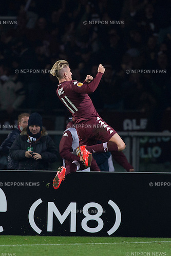 Maxi Lopez (Torino), FEBRUARY 19, 2015 - Football / Soccer : Maxi Lopez of Torino celebrates scoring their team first goal during the UEFA Europa League, round of 32 first leg match between Torino FC 2-2 Athletic Club Bilbao at Stadio Olimpico di Torino in Turin, Italy. (Photo by Maurizio Borsari/AFLO)