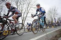 Liège-Bastogne-Liège 2013..Bauke Mollema (NLD) descending.