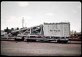 D&amp;RGW pile driver #OB in Alamosa.<br /> D&amp;RGW  Alamosa, CO