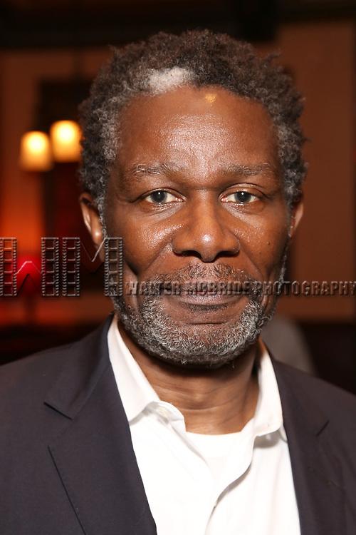 John Douglas Thompson attends the 2017 New York Drama Critics' Circle Awards Reception at Feinstein's / 54 Below on 5/18/2017 in New York City.