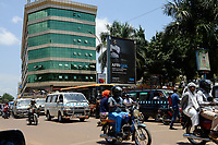 UGANDA, Kampala, Kampala Road in city center