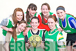 The Ballydonogue team that competed in the KDYS county finals in Killarney on Sunday front row l-r: Zoe Hughes, alice Neville, Deirdre Mccarthy. Back row: Catherine Flavine, Laura Foley, Norma O'Sullivan and Breda Foley    Copyright Kerry's Eye 2008