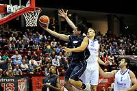 GRONINGEN - Basketbal, Donar - Vitautas, Champions League,  seizoen 2017-2018, 19-09-2017, Donar speler Sean Cunningham op weg naar score