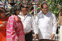 Claquetazo inicial de la telenovela La Tempestad en el centro de Alvarado, Veracruz,<br />  06/03/2013.<br /> (K.Carballo/NortePhoto&copy;)