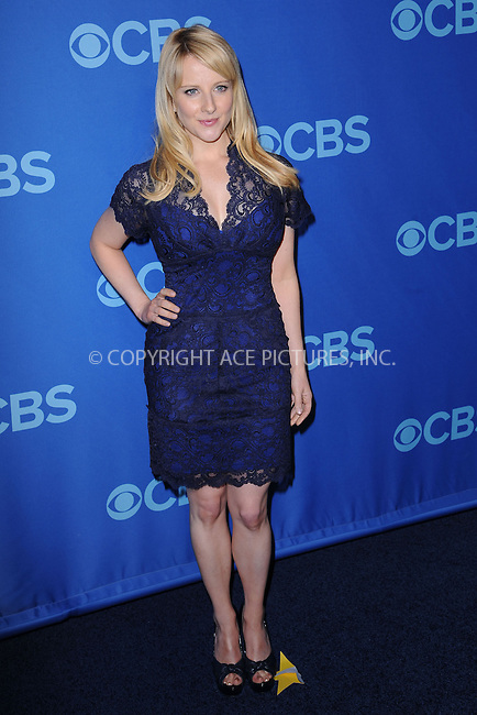 WWW.ACEPIXS.COM . . . . . .May 15, 2013...New York City....Melissa Rauch attending the CBS 2013 Upfront Presentation at The Tent at Lincoln Center on May 15, 2013 in New York City ....Please byline: KRISTIN CALLAHAN - ACEPIXS.COM.. . . . . . ..Ace Pictures, Inc: ..tel: (212) 243 8787 or (646) 769 0430..e-mail: info@acepixs.com..web: http://www.acepixs.com .