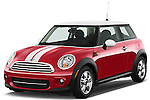 Front three quarter view of a 2012 Mini Cooper Mini Cooper Hardtop.