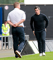 Fleetwood Town Manager Joey Barton on the sidelines<br /> <br /> Photographer David Shipman/CameraSport<br /> <br /> The EFL Sky Bet League One - Oxford United v Fleetwood Town - Saturday August 11th 2018 - Kassam Stadium - Oxford<br /> <br /> World Copyright &copy; 2018 CameraSport. All rights reserved. 43 Linden Ave. Countesthorpe. Leicester. England. LE8 5PG - Tel: +44 (0) 116 277 4147 - admin@camerasport.com - www.camerasport.com