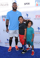 11 August 2016 - Los Angeles, California. Howie Kendrick. Clayton Kershaw's 4th Annual Ping Pong 4 Purpose Celebrity Tournament held at Dodger Stadium. Photo Credit: Birdie Thompson/AdMedia