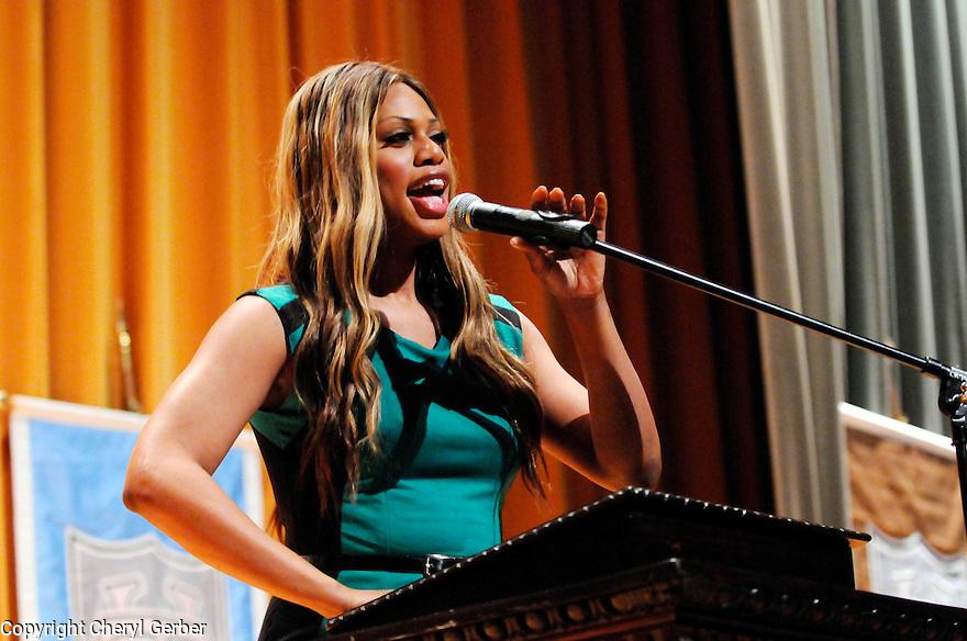 Transgender actress speaks at Tulane University