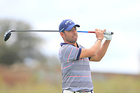 Pablo Larrazabal (ESP) on the 11th tee during Round 3 of the Open de Espana 2018 at Centro Nacional de Golf on Saturday 14th April 2018.<br /> Picture:  Thos Caffrey / www.golffile.ie<br /> <br /> All photo usage must carry mandatory copyright credit (&copy; Golffile | Thos Caffrey)