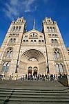 Edifício do Museu de História Natural. Londres. Inglaterra. 2008. Foto de Juca Martins.