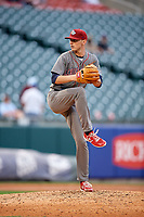 Lehigh Valley IronPigs relief pitcher Brandon Leibrandt (37) delivers a pitch during a game against the Buffalo Bisons on June 23, 2018 at Coca-Cola Field in Buffalo, New York.  Lehigh Valley defeated Buffalo 4-1.  (Mike Janes/Four Seam Images)