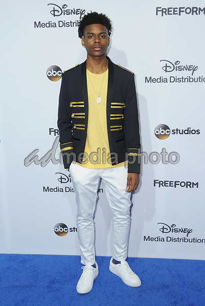 21 May 2017 - Burbank, California - Aubrey Joseph. ABC Studios and Freeform International Upfronts held at The Walt Disney Studios Lot in Burbank. Photo Credit: Birdie Thompson/AdMedia
