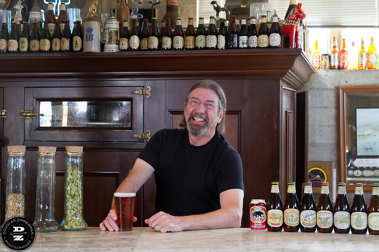 Keith Greggor, president and CEO of Anchor Brewers & Distillers at the Anchor Steam brewery in San Francisco, Calif.