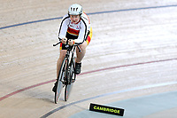 Sonya Barton of Southland competes in the Masters Women 3 2000m at the Age Group Track National Championships, Avantidrome, Home of Cycling, Cambridge, New Zealand, Thurssday, March 16, 2017. Mandatory Credit: © Dianne Manson/CyclingNZ  **NO ARCHIVING**