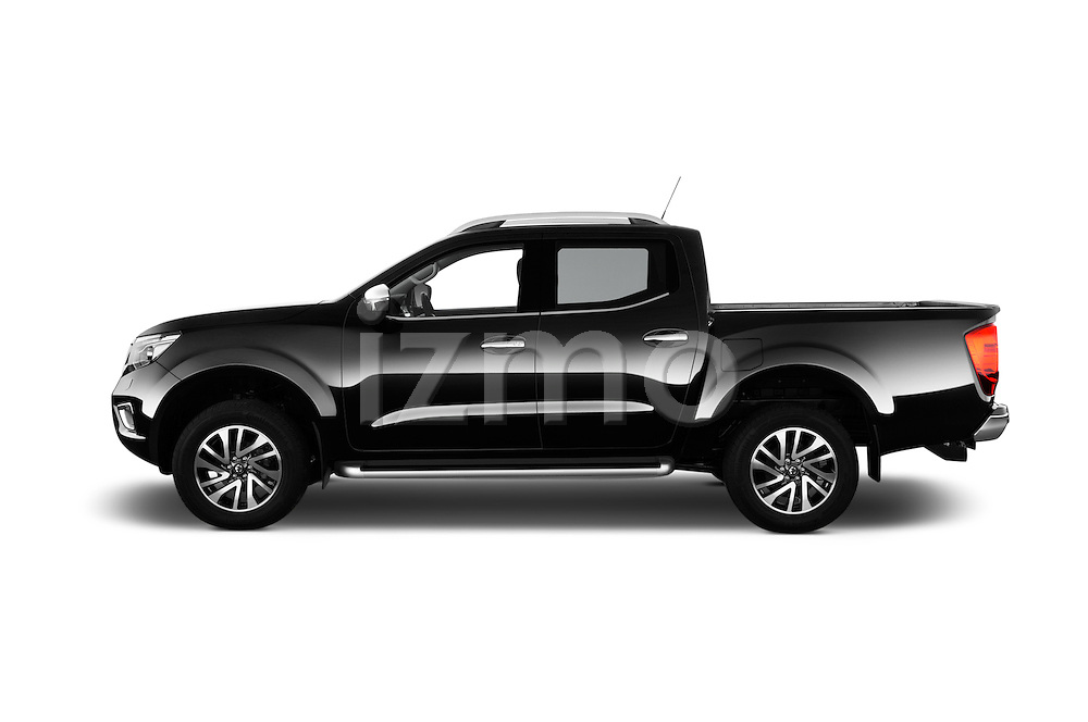 Car Driver side profile view of a 2016 Nissan NP300 Tekna 4 Door Pickup Side View
