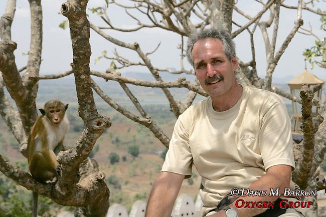David Barron At Dambulla Cave Temple