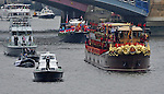 """QUEEN'S JUBILEE PAGEANT.Her Majesty The Queen and His Royal Highness The Duke of Edinburgh were onboard the Royal Barge, the Spirit of Chartwell with several other members of the Royal Family to celebrate the Queen?s Diamond Jubilee at the River Pageant on the Thames River. .London. 03/06/2012.Mandatory Credit Photo: ©C Myers/NEWSPIX INTERNATIONAL..**ALL FEES PAYABLE TO: """"NEWSPIX INTERNATIONAL""""**..IMMEDIATE CONFIRMATION OF USAGE REQUIRED:.Newspix International, 31 Chinnery Hill, Bishop's Stortford, ENGLAND CM23 3PS.Tel:+441279 324672  ; Fax: +441279656877.Mobile:  07775681153.e-mail: info@newspixinternational.co.uk"""